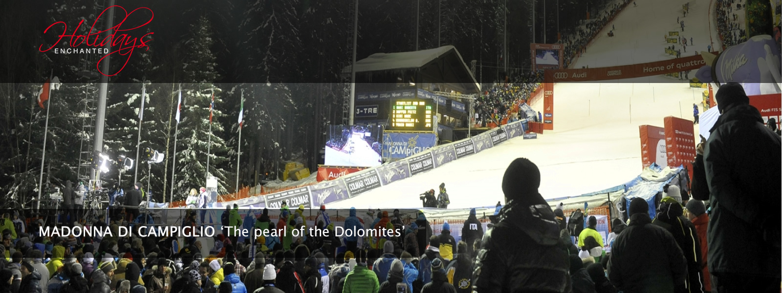 3tre FIS Ski World Cup at Madonna di Campiglio