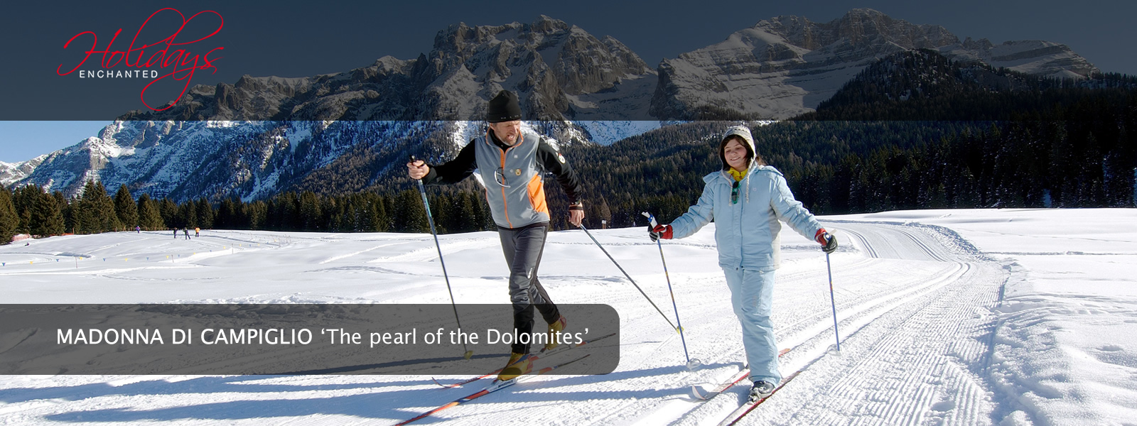 Cross Country Skiing in Madonna di Campiglio