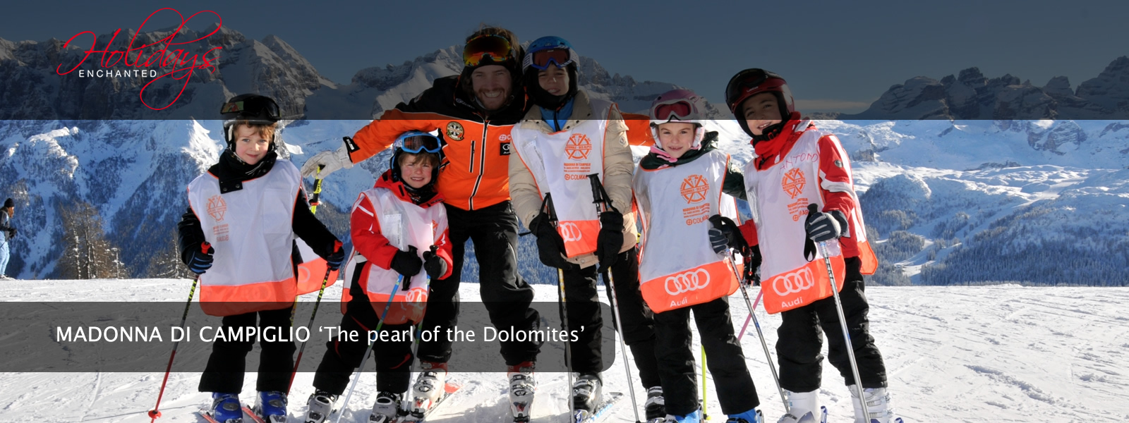 Ski School and Ski Instructor at Madonna di Campiglio