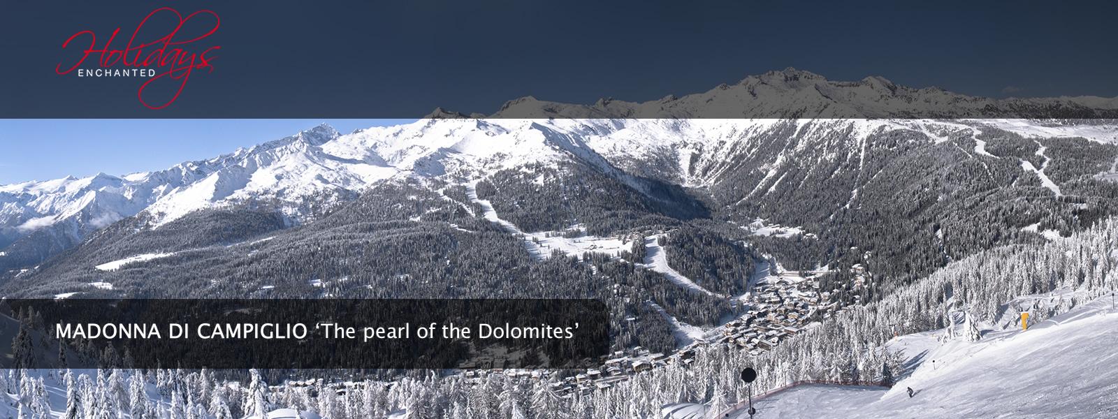 Winter in the Dolomites at Madonna di Campiglio