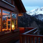 Bio Hotel Hermitage Madonna di Campiglio Rear Balcony