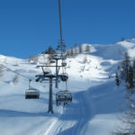 Chair Lift in Madonna di Campiglio