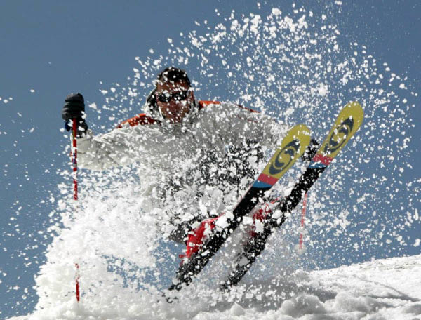 Freeride lessons available at ski school