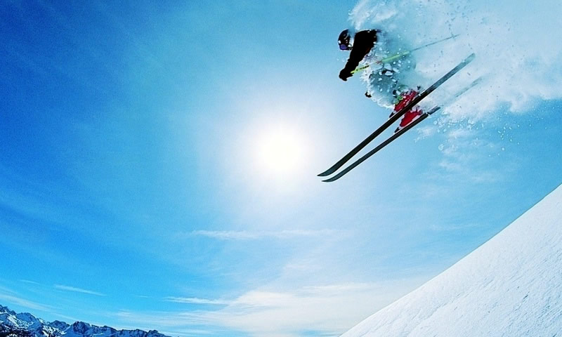 Freestyle lessons available at ski school