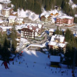Looking down on Madonna di Campiglio