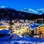 Madonna di Campiglio at Night
