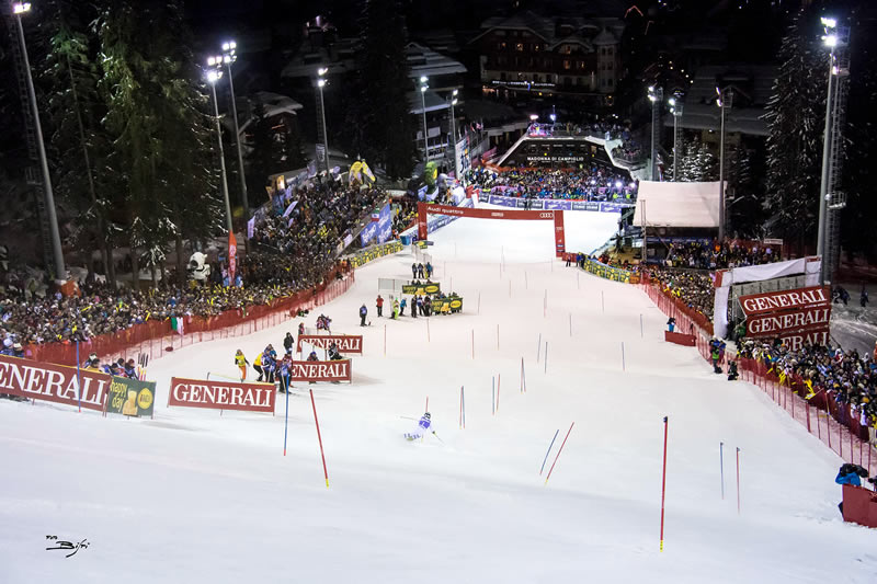 Mens FIS World Cup Slalom in Madonna di Campiglio